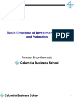 2013 06 Greenwald Earnings Power Value EPV Lecture Slides