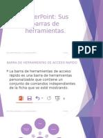 7.- PowerPoint y Sus Barras de Herramientas