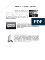 Componentes de Un Motor a Gasolina