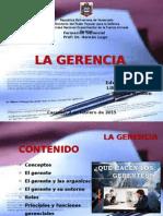 La Gerencia - 02-02-15