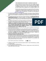 Instrution for KPCB job