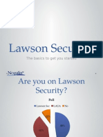 Lawson Security