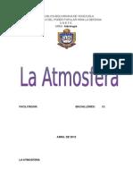 Hidrologia La Atmosfera
