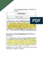 ENEM 2013 DICAS PARA REDAÇÃO.docx