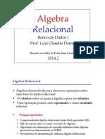 Aula 5 - Algebra Relacional