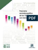 Panorama Sociodemografico de 125 Mpios Con Menor IDH