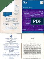 Rev. Francis J. Ripley - God