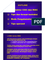 Cisc Risc Mode Pngalamtn Oprand Piksi