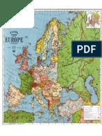 Europa mapa color full