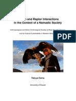 Takuya Soma (2014) Mensch-Greifvogel-Interaktionen im Rahmen einer nomadischen Gesellschaft
