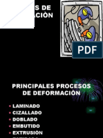 Procesos de Deformaciòn
