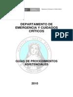 Guia Emer Procedimientos Asistenciales 2010