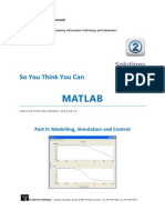 MATLAB Solutions - Part 2