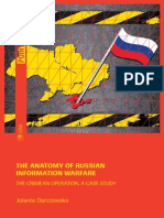 The Anatomy of Russian Information Warfare