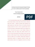 Analisis Pengaruh Harga Premium Dan Pengetahuan Ekologikal Terhadap Niat Beli Green Cosmetics (studi kasus pada The Body Shop pontianak)