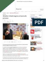Helados Gelarti Ingresa Al Mercado Peruano _ LaRepublica