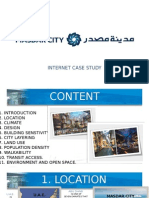 Masdar City-case studies