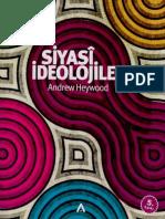 Andrew Heywood - Siyasi İdeolojiler - Adres Yay-01