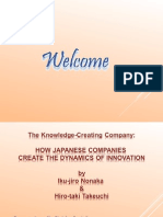 Knowledge Creating Companies
