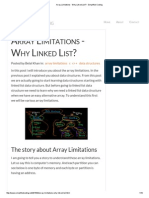 Array Limitations - Why Linked List_ - Simplified Coding