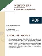 Implementasi ERP Sistem