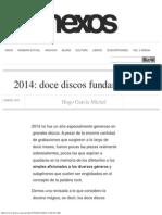 2014 Doce Discos Fundamentales