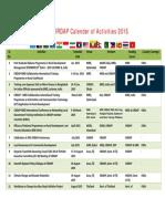 Work Plan of CIRDAP for 2015 Final