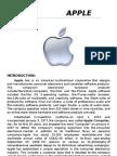 (Assignment)Apple inc,[Profile]