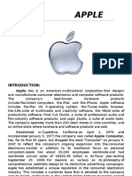 (Assignment)Apple inc,[Profile]