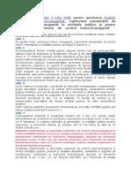 ORDIN Nr. 946 Din 4 Iulie 2005 Pentru Aprobarea Codului Controlului Internmanagerial