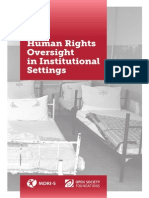 Human Rights Oversight in Institutional Settings Copy