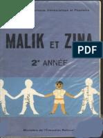 Malik Et Zina 2eme Annee - Algérie