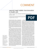 Nature Reviews Drug Discovery Volume 12 Issue 2 2013 [Doi 10.1038%2Fnrd3944] Narayan, Vaibhav a.; Mohwinckel, Marco; Pisano, Gary; Yang, Mich -- Beyond Magic Bullets- True Innovation in Health Care