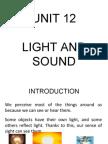 Unit 12 - Light and Sound