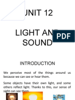 Unit 12 - Light and Sound