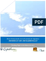 Retos Estructurales de la Economia de Gipuzkoa. MODELO DE DESARROLLO
