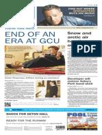 Asbury Park Press front page Thursday, Feb. 12 2015