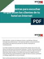 4 herramientas para escuchar lo que dicen los clientes de tu hotel en Internet