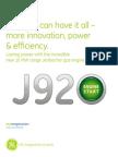J920 Jenbacher Factsheet English