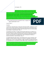 Fichamento - ManifestoFIEP2000