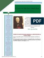 60 Razones Que Obligan a Rechazar La Nueva Misa
