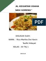 Proposal Kegiatan Usaha Nasi Goreng