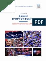 Rapport JO 2024 à Paris