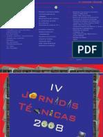 Panfleto IV Jornadas Técnicas versão final