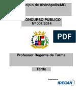 Professor Regente de Turma
