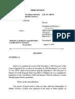 Balabad vs. Sps. Yupano, 2009-Affidavit of Self-Adjudication