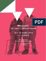 Week-End de l'Art Contemporain 2015