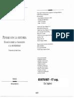 05070007 SCHORSKE - La Idea de La Ciudad en El Pensamiento Europeo, De Voltaire a Spengler (en, Pensar Con La Historia)