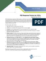 TSI-148 PID Response Factors