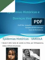 Epidemias Históricas e Doenças Virais
